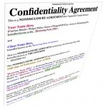 NDA - Non-Disclosure Agreement$65.00
